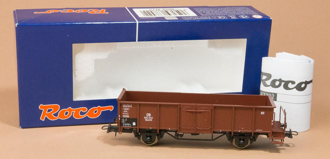 offener Güterwagen mit Bremserbühne